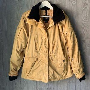 NILS Yellow Ski Snow Jacket women's size 10